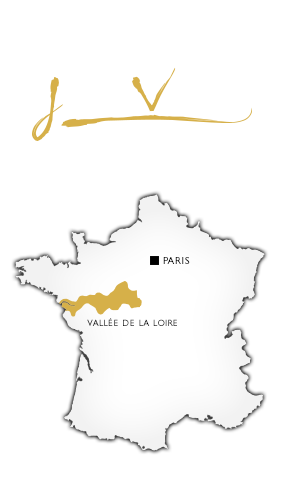 Carte France Vallée de Loire